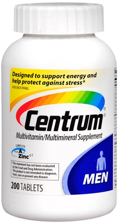 Centrum Ultra Men's Tablets 200 ea [300054757708]