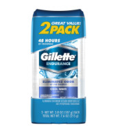 Gillette Anti-Perspirant Deodorant Clear Gel, Cool Wave 8 oz [047400099951]