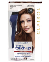 Clairol Nice 'n Easy Root Touch-Up Permanent Hair Color, 4R Dark Auburn, 1 Kit [070018043887]