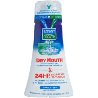 SmartMouth Dry Mouth Clean Activated Mouthwash, Soothing Mint 16 oz [697366003501]