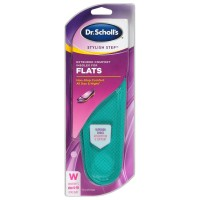 Dr. Scholl's Stylish Step Extended Comfort Insoles for Flats, Size 6-10 1 ea [011017570035]