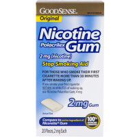 Good Sense Nicotine Polacrilex Gum, 2mg 20 ea [301130029603]