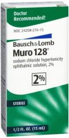 Bausch & Lomb Muro 128 Solution 2% 15 mL [324208276150]