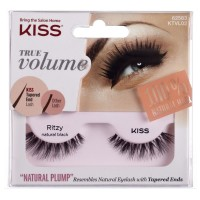 KISS True Volume Natural Plump Eyelashes, Ritzy Natural Black 1 ea [731509625837]