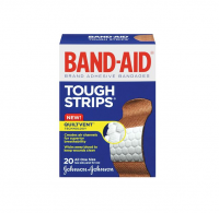 BAND-AID Tough-Strips Bandages All One Size 20 Each [381370044086]