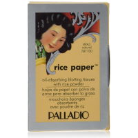 Palladio Rice Paper Natural Blotting Tissues 40 ea [024057240059]