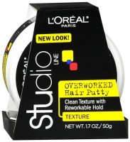 L'Oreal Studio Line Overworked Hair Putty 1.70 oz [071249020517]