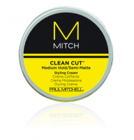 Paul Mitchell Clean Cut Medium Hold/Semi-Matte Styling Cream, 3 oz [009531118772]