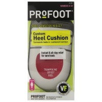 ProFoot Custom Heel Cushions, Women's 6-10 1 Pair [080376020185]