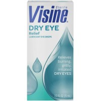 Visine Dry Eye Relief Eye Drops 0.50 oz [074300010670]