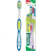 GUM Supreme Max Toothbrush with Tongue Cleaner, Soft 1 ea [070942126991]
