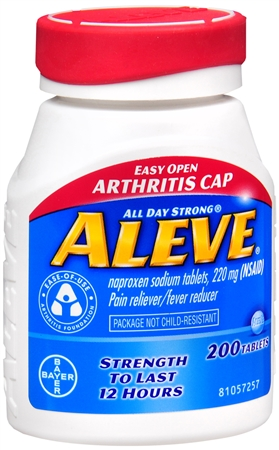 Aleve Tablets Easy Open Arthritis Cap 200 Tablets [325866536488]