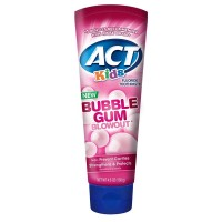 ACT Kids Fluoride Toothpaste, Bubblegum Blowout 4.6 oz [041167094228]