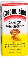 Creomulsion Cough Medicine Adult Formula 4 oz [312090001417]