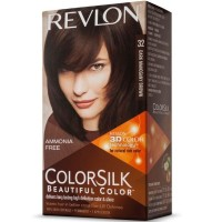 Revlon ColorSilk Hair Color [32] Dark Mahogany Brown 1 ea [309978695325]