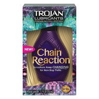 TROJAN Premium Collection Chain Reaction Lubricant    2.7 oz [022600998464]