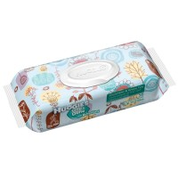 HUGGIES One & Done Baby Wipes, Cucumber & Green Tea 56 ea [036000318364]