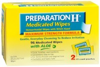Preparation H Medicated Wipes 96 Each [305730556965]