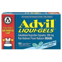 Advil Pain Reliever/Fever Reducer Liquid Filled Capsules 200 mg 160 ea [305730169769]