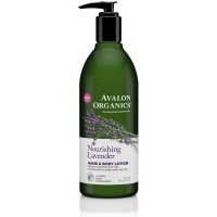Avalon Organics Hand & Body Lotion, Nourishing Lavender 12 oz [654749352007]
