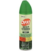 OFF! Deep Woods Dry Aerosol Spray Insect Repellent 4 oz [046500717642]
