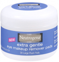Neutrogena Extra Gentle Eye Makeup Remover Pads 30 ea [086800124351]
