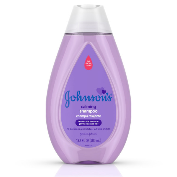 JOHNSON'S Calming Baby Shampoo with Soothing NaturalCalm Scent 13 6 oz