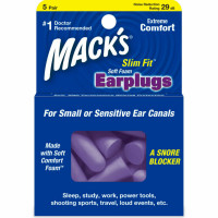 Mack's Slim Fit Soft Foam Earplugs 5 Pairs [033732009157]
