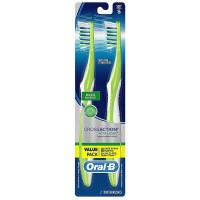 Oral-B CrossAction Pro-Health Soft Vitalizer Toothbrushes, Value Pack 2 ea [300416649115]