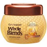 Garnier Whole Blends Repairing Mask, Honey Treasures Extracts 10.10 oz [603084462124]