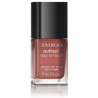 CoverGirl Outlast Stay Brilliant Nail Gloss, Coral Silk [240] 0.37 oz [008100007646]
