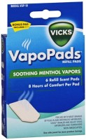 Vicks Scent Pads VSP-19 6 Each [328785300192]