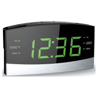 Coby Bluetooth Am/Fm Radio Alarm Clock 1 Ea [812180022617]
