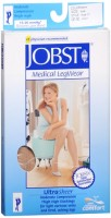 JOBST Medical LegWear Thigh High 15-20 mmHg Ultra Sheer Small Beige 1 Pair [035664193775]