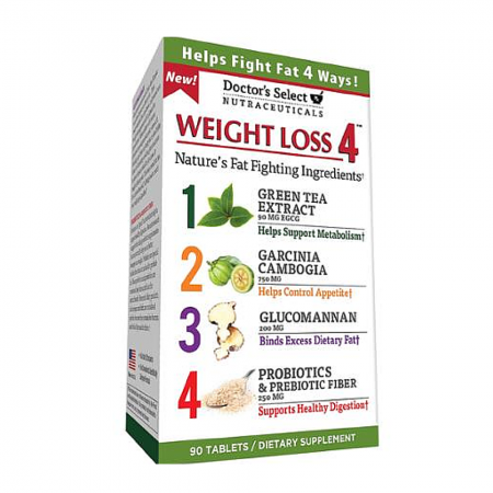 Doctor's Select Weight Loss 4, Tablets 90 ea [035046083878]