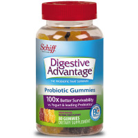 Digestive Advantage Daily Probiotic Gummies, 80 ct [020525183651]