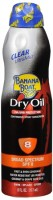 Banana Boat UltraMist Tanning Dry Oil Continuous Spray SPF 8 6 oz [079656044508]