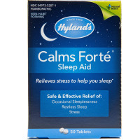 Hyland's Calms Forte Sleep Aid Tablets 50 ea [354973325715]