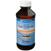 De La Cruz Cod Liver Oil 4 oz [024286154745]