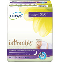 TENA Overnight Underwear, Medium, 16 ea [768702542524]