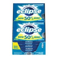 Eclipse  Sugar Free Gum Peppermint 8 packs (18 ct per pack)  [022000119445]