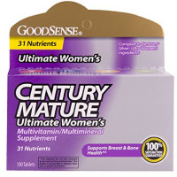 Good Sense Century Mature Women's Multivitamin Tablets 100 ea [070030129170]