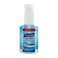 Purell Advanced Hand Sanitizer, Ocean Kiss 2 oz [073852029437]