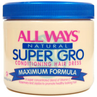 All Ways Natural Super Gro Conditioning Hair Dress 5.5 oz [048398002404]