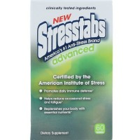 Stresstabs Advanced Tablets 60 ea [636652125190]