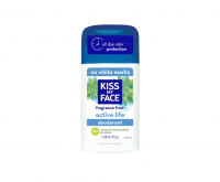 Kiss My Face Natural Active Life Aluminum Free Deodorant Stick, Fragrance Free 2.48 oz [028367834595]