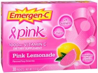 Emergen-C Vitamin C Packets Pink Lemonade 30 Each [076314302048]