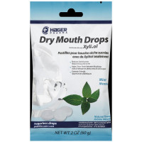 Hager Pharma Dry Mouth Drops with Xylitol, Mint 2 oz [014081060242]