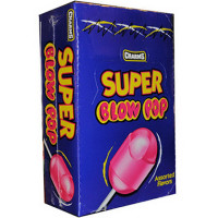 Charms Super Blow Pops, Assorted Flavors 48 ea [014200328567]
