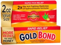 Gold Bond Medicated Anti-Itch Cream Maximum Strength 2 oz [041167050125]